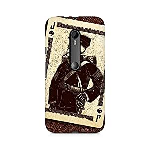 Mobicture Skull Premium Printed Case For Moto X Force