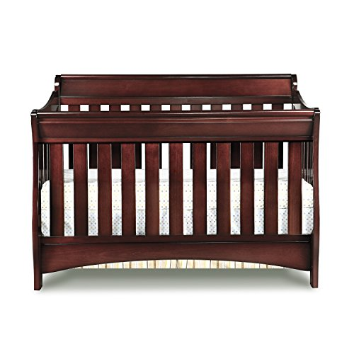 Delta Children Bentley S Series 4 In 1 Crib Black Cherry