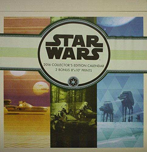 Star Wars 2016 Calendar: Includes 2 Prints
