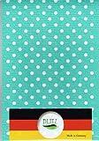 【まとめ買いセット】BLITZ ブリッツ 100%天然繊維 ドイツのフキン 水玉(グリーン)3枚セット