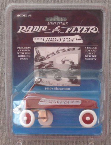Radio Flyer Miniature Streak-O-Lite Wagon Model #3 - 1