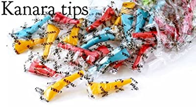 Zebra Smoke Coco Hookah Male Mouth Colorful Tips 100 Pieces Bag