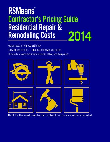 RS Means Residential Repair & Remodeling Costs 2014: Contractor's Pricing Guide - RS Means - RS-CP-Repair - ISBN: 1940238196 - ISBN-13: 9781940238197