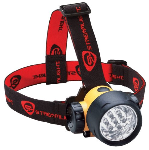 Streamlight 61052 Septor LED Headlamp  Strap