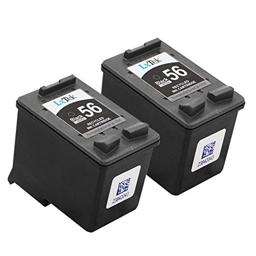 LxTek Remanufactured Ink Cartridge Replacement For HP 56