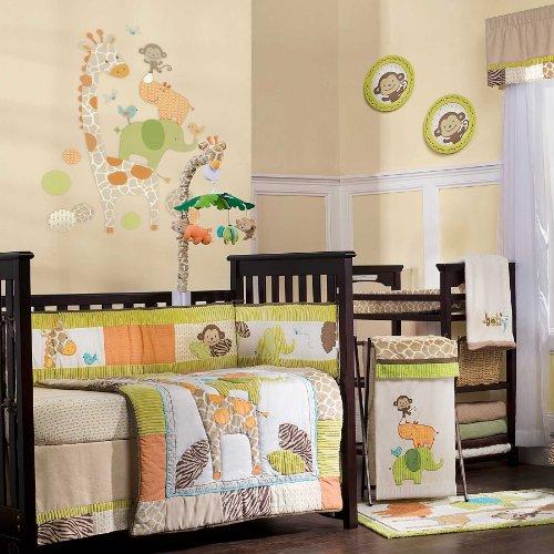 Giraffe Baby Bedding For Cribs