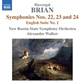 Symphonies Nos 22-24 English Suite No.1
