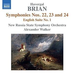 Symphonies Nos. 22-24 / English Suite No. 1