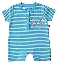 Babeez Baby Boy's Short Romper / oneise (100% Cotton Interlock) to fit height 50-56cms