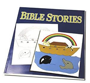 "Bible Stories Magic Coloring Book - Magic Trick with ""How To"" Instructions"