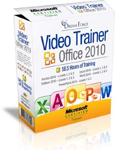 Office 2010 Training Videos Including: Access 2010, Excel 2010, Outlook 2010, Powerpoint 2010 & Word 2010 - 58.5 Hours Of Office 2010 Training By Microsoft Office Specialist Master Instructor: 2000, Xp (2002), 2003, 2007, 2010 And Microsoft Certified Trai