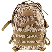 Imported 3D 40L Tactical Military Backpack School Hiking Travel Bag Desert Digital