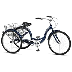 Schwinn Hampton 26-Inch Tricycle, Dark Blue, 16-Inch Frame by Pacific Cycle (Over-Boxed Product)