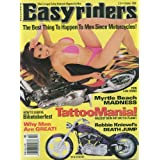 Easyriders (October 1999) Tatoo Mania; Myrtle Beach Madness; Robbie Knievel's Death Jump; 97 H-D FXSTC; Paul Lazars...