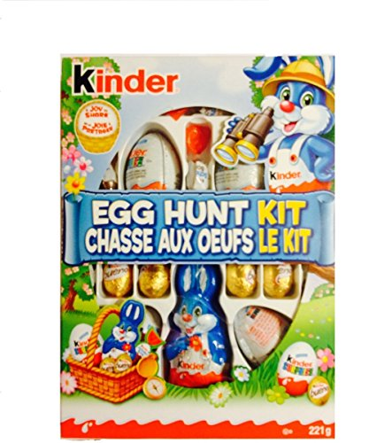 Delicious Kinder Easter Chocolates