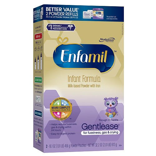 Enfamil Gentlease Refill Box 32.2 Ounce