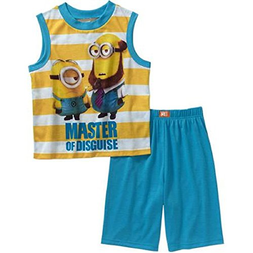 Despicable Me Minions Undercover Sleepwear Set, Size M (8)