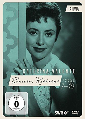 Caterina Valente - Bonsoir, Kathrin! Folgen 7 - 10 [4 DVDs]