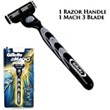 Mach 3 Razor (1 Blade Cartridge + 1 Razor Handle)
