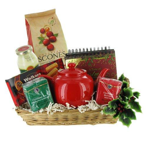 Tea Time Christmas Gift Basket