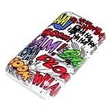 deinPhone Coque rigide de protection pour Nokia Lumia 620 Motif onomatop�es
