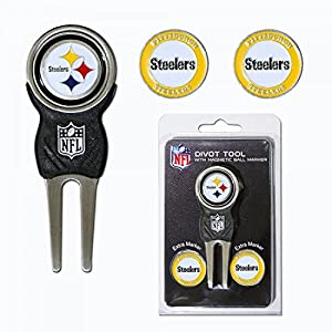 Pitsburgh Steelers Nfl Divot Tool Pack W/signature Tool at Steeler Mania