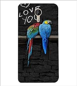 PrintDhaba Love Birds D-3216 Back Case Cover for LETV (LE ECO) LE 1 PRO (Multi-Coloured)