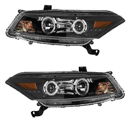100W Halogen Driver side WITH install kit 2006 Honda ACCORD COUPE Post mount spotlight 6 inch -Chrome