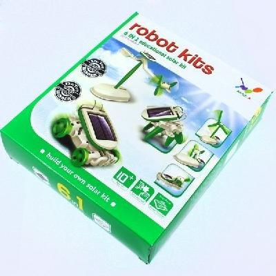 6 in 1 DIY solarbetriebenen Spielzeug Modell