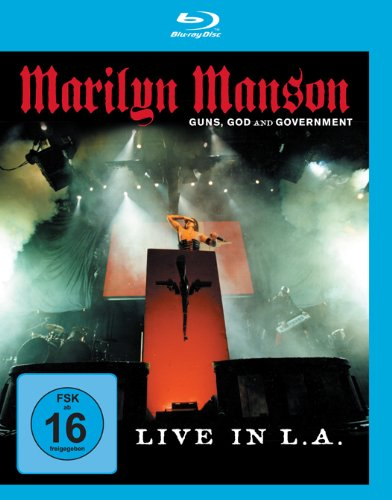 Marilyn Manson: Guns, God And Govemment [Edizione: Germania]