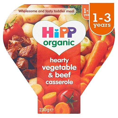 HiPP Organic Growing Up Meals Hearty Vegetables & Beef Casserole 230g
