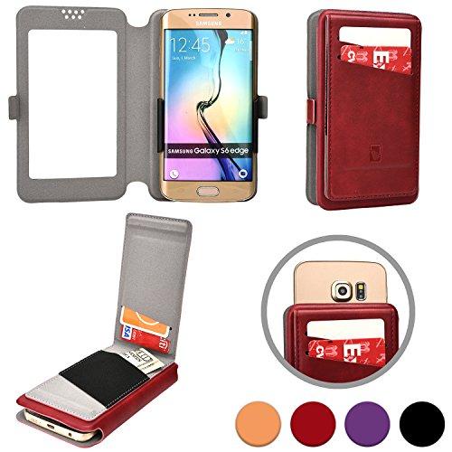 Cooper Cases(TM) Slider Flip Custodia a Portafoglio per Motorola Atrix HD, Electrify 2, Electrify M, Luge in Bordeaux