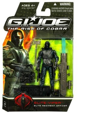 Buy Low Price Hasbro G.I. Joe The Rise of Cobra 3 3/4″ Action Figure Elite-Viper (Elite Regiment Officer) (B002GNZZ0O)