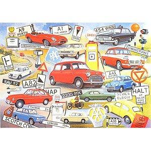 1000 Piece Jigsaw - On The Road Again