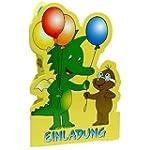 Tabaluga Party Einladungen