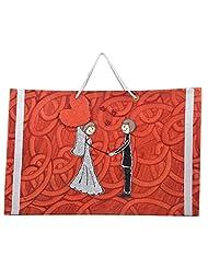 Richa Kriti Paper Maroon Shopping Bag - B017IUQ2S8