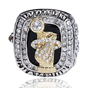 Miami Heats MVP Lebron James First NBA Championship Ring Replica Souvenir