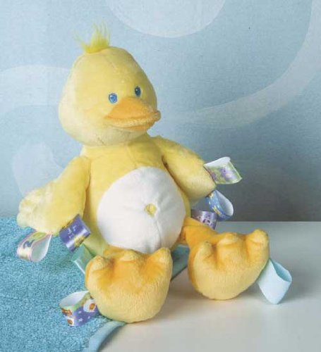 Taggies Developmental Baby Animal, Yellow Duck front-892630
