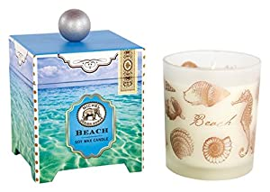 Michel Design Works, Beach 14-Ounce Large Soy Wax Candle