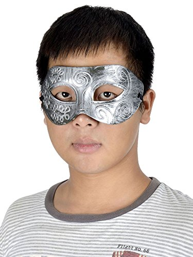 AMC Men's Retro Gladiator Knight Eye Mask Costume Masquerade Cosplay