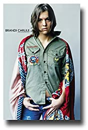 Brandi Carlile Poster - 1st FireWatcher\'s Daughter Story -Give Up Ghost Tour