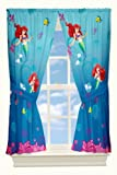 Disney Little Mermaid Secret Gem Drapes, 82 by 63-Inch