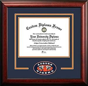 Auburn University Tigers - College Mascot - Spirit Mat Cutout - Diploma Frame