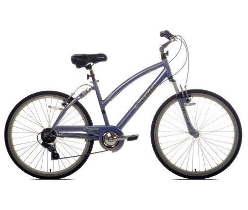 Kent Women's Bayside Comfort Bike (26-Inch Wheels, Purple/Silver)