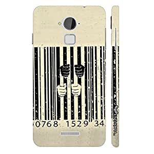 Coolpad Note 3 Behind Bars designer mobile hard shell case by Enthopia