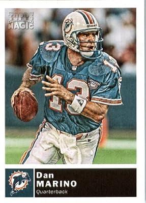 2010 Topps Magic Football Card #32 Dan Marino - Miami Dolphins - NFL Trading Card