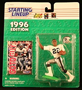 HARVEY WILLIAMS OAKLAND RAIDERS 1996 NFL Starting Lineup Action Figure &... by Starting Line Up