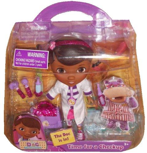 Disney Doc. McStuffins Figura Acción Tiempo Doll para un chequeo 5 Pulgadas