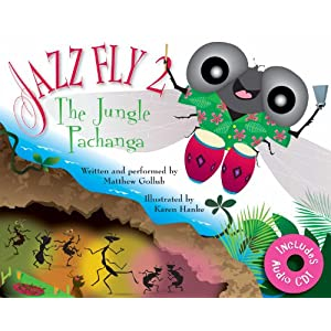 Jazz Fly 2: The Jungle Pachanga (book w/ audio CD)
