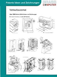 Verkaufsautomat, über 5900 Seiten (DIN A4) patente Ideen und Zeichnungen
